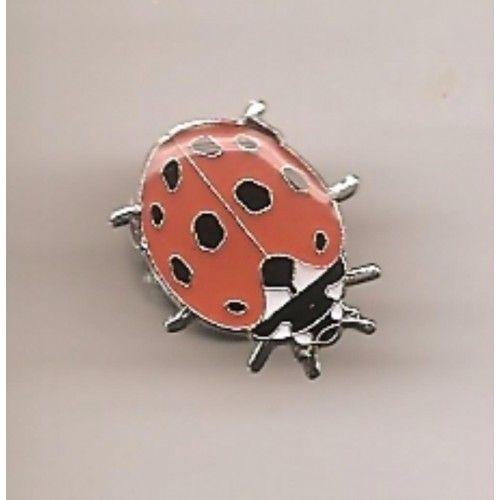 3€ (ledenprijs 2.70€) - Natuurpunt.be - Pin Lieveheersbeestje / Ladybird bug pin