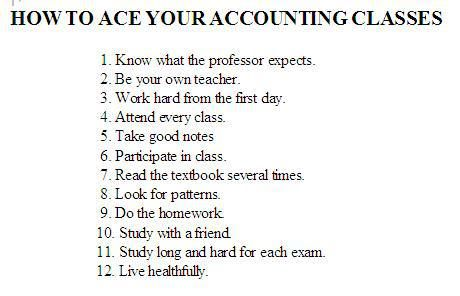 I Was An Accounting Major for A Semester
