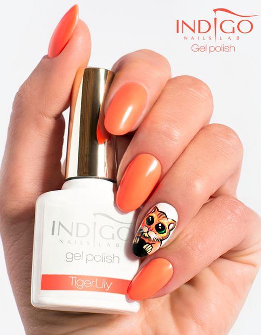 Tiger Lily ( video)   indigo labs nails veneto