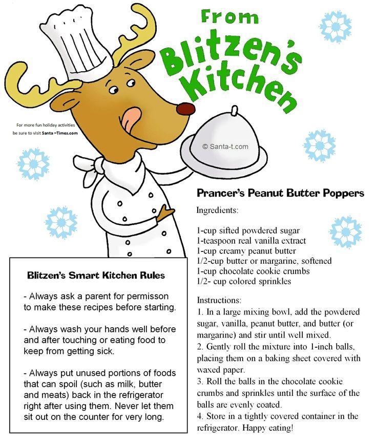Blitzens Kitchen No Bake Recipes From The North Pole