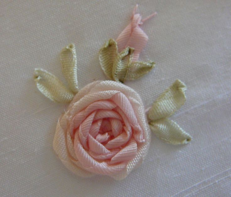 Best images about embroidery ribbon flower on