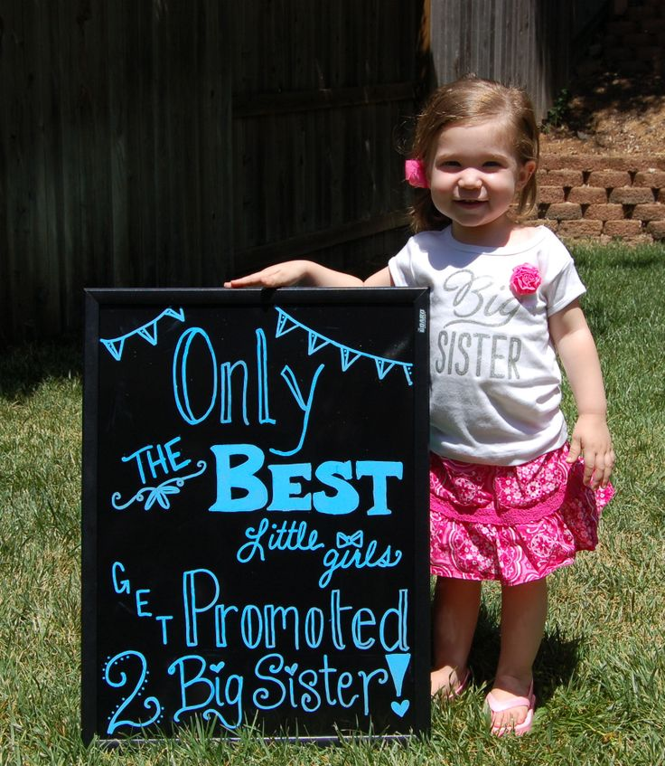 Big sister announcement!
