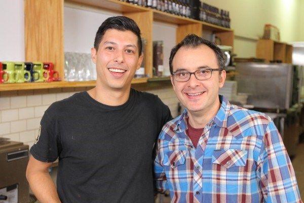 John Catucci and Chef Alejandro Vera.
