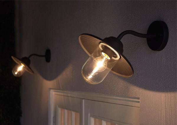 Applique Noire Mat Rimouski Blooma Brico Depot Eclairage Exterieur Luminaire Eclairage