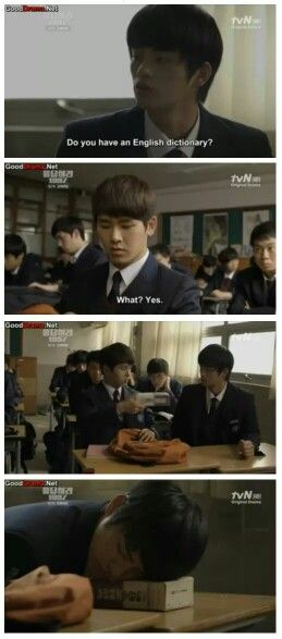 """Reply 1997"", I like the fact that he chooses specific books to use as pillows hahah"