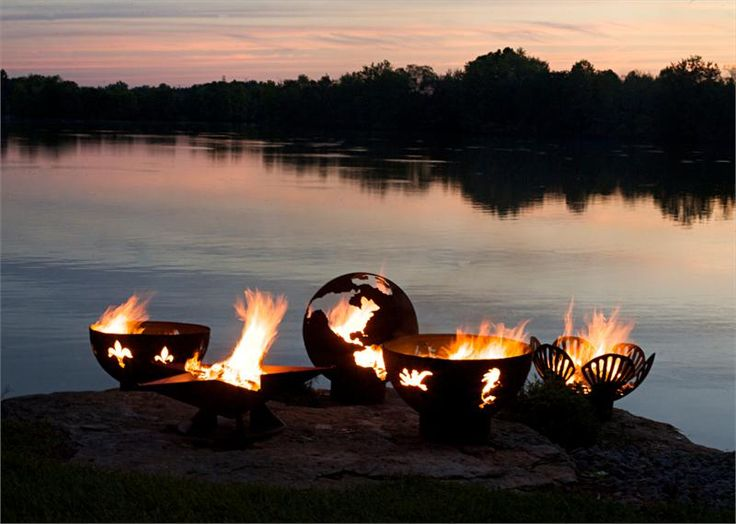 awesome fire pits