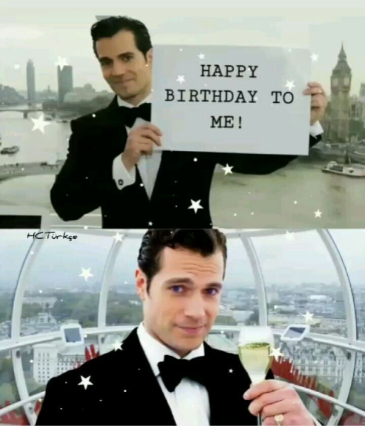 HAPPY 36TH BIRTHDAY HENRY CAVİLL!! 🎂 #henrycavill #superman #manofsteel  #bvs #justiceleauge #Witcher #hen… | Happy 36th birthday, 36th birthday, Happy  birthday me