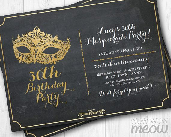Hey, I found this really awesome Etsy listing at https://www.etsy.com/listing/257823974/masquerade-party-gold-mask-invitation