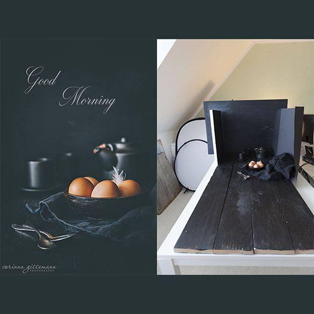 Gleich geht es weiter mit den Workshop-Vorbereitungen, die Aufregung steigt :). Das Huhn wollte nicht so wie ich wollte, deshalb mussten die Eier herhalten :D. Kleiner Scherz :). #food #foodphotography #foodfotografie