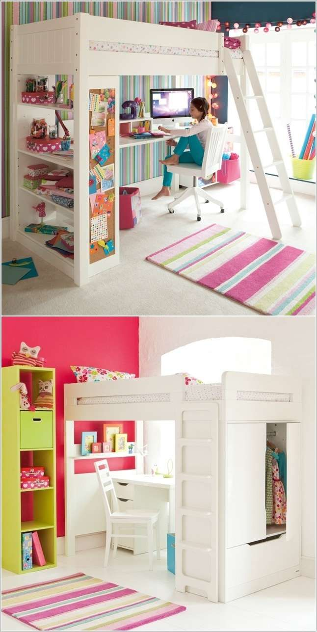 5 Space Saving Ideas to Add a Study Space to Your Kids Room.