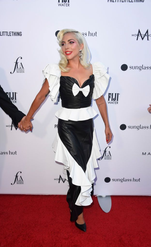 ac79ffe37060c Lady Gaga In Rodarte – The Daily Front Row's 5th Annual Fashion Los Angeles  Awards