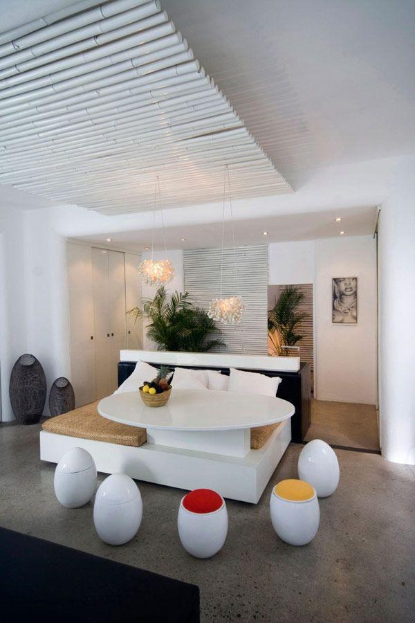 peaceful mediterranean style home in bali - Bali Bedroom Design