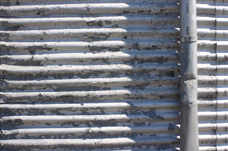 New Zealand - Urban Decay in Corrugated Iron.  #Urban Decay #Corrugated Iron