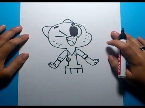 Como dibujar a Nicole paso a paso - El asombroso mundo de Gumball  | How...