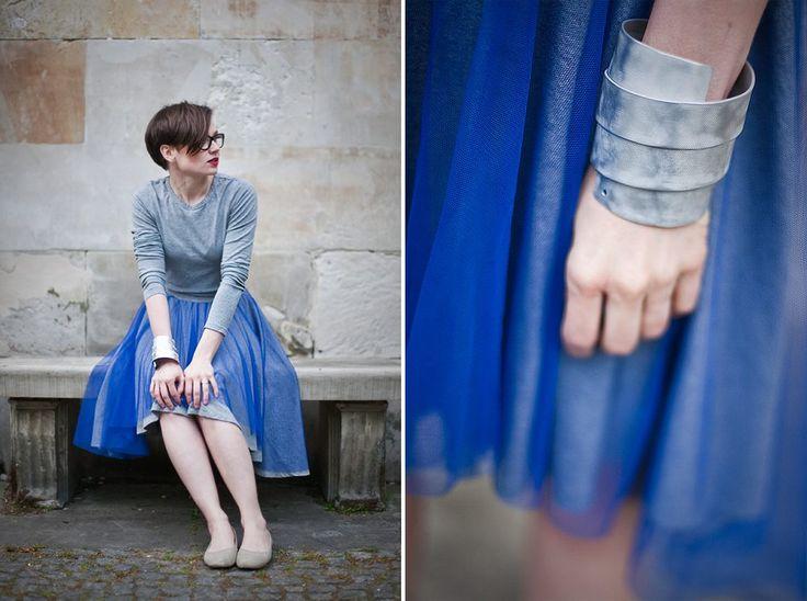 Bracelet made by Białek Design Studio - contemporary jewelry