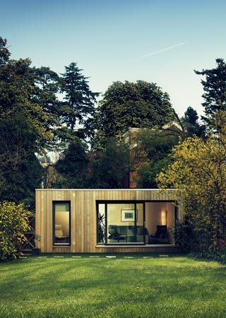 Contemporary Garden Studios by Eco Space