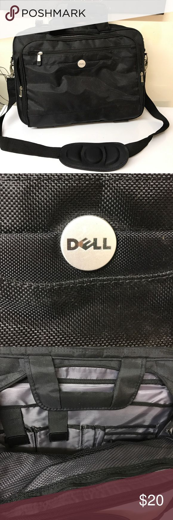 New DELL laptop handbag Dell laptop large bag new never used lots of pockets for organization 18x13 great condition no damage adjustable shoulder strap dell Bags Laptop Bags