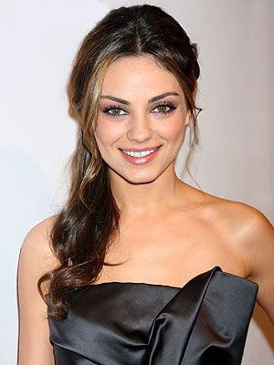 Mila rocking two of my favorites: Smokey eyes and a side pony