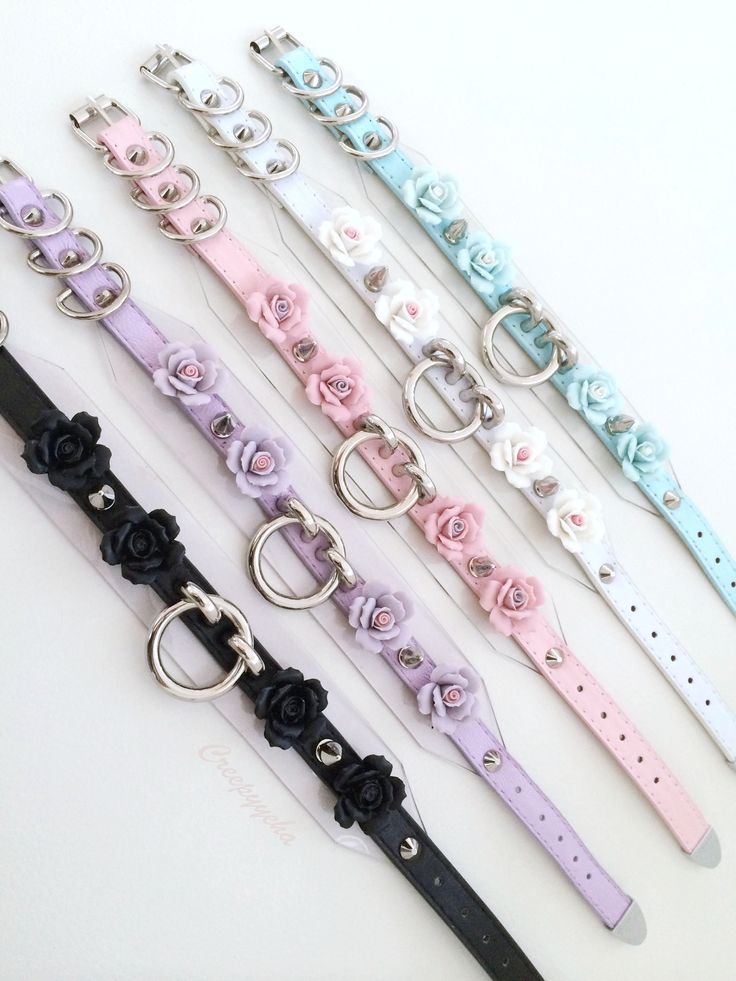 fashion shopping floral pastel accessories pastel goth choker nu ...