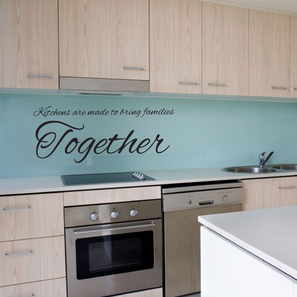 Bring Families Together Wall Decal