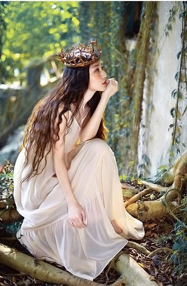 Imagine you're stolen from the human world and have been taken by the fairies. Who is your inner fairy, who are your true kind?