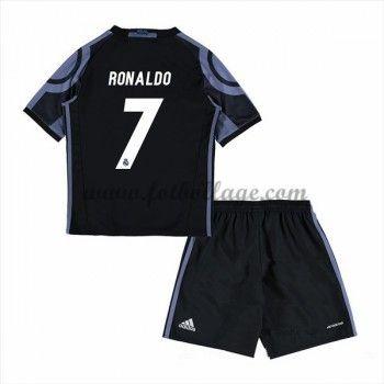 Real Madrid Fotbollströjor Barn 2016-17 Ronaldo 7 Tredje Matchtröja