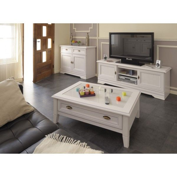 Parisot Elise TV unit - in Memphis pine perfect for both modern and traditional homes