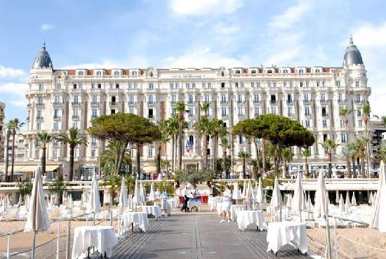 The CARLTON INTERCONTINENTAL Cannes France!