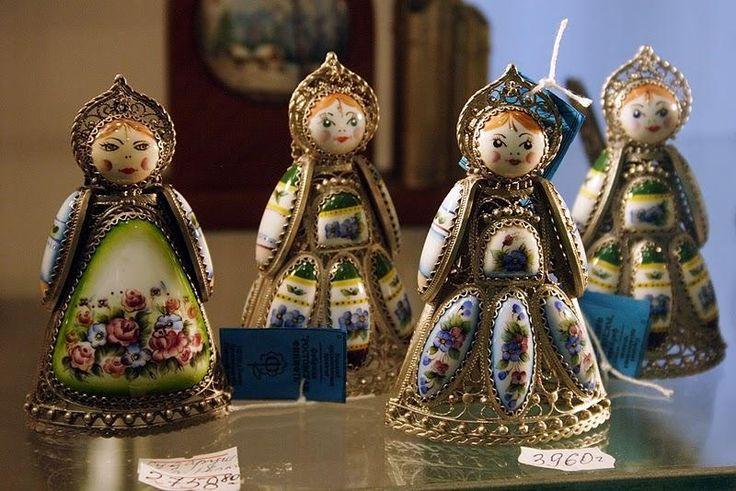 Ювелирные изделия. Ростовския финифть - Вокруг света