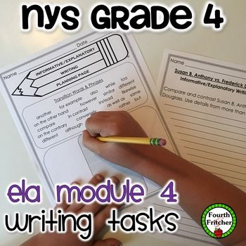 55 best nys grade 4 ela modules images on pinterest 5th grades nys grade 4 ela module 4 writing tasks pack publicscrutiny Images
