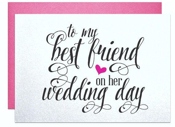 Gift For Friend On Her Wedding: 1000+ Ideas About Best Friend Wedding On Pinterest
