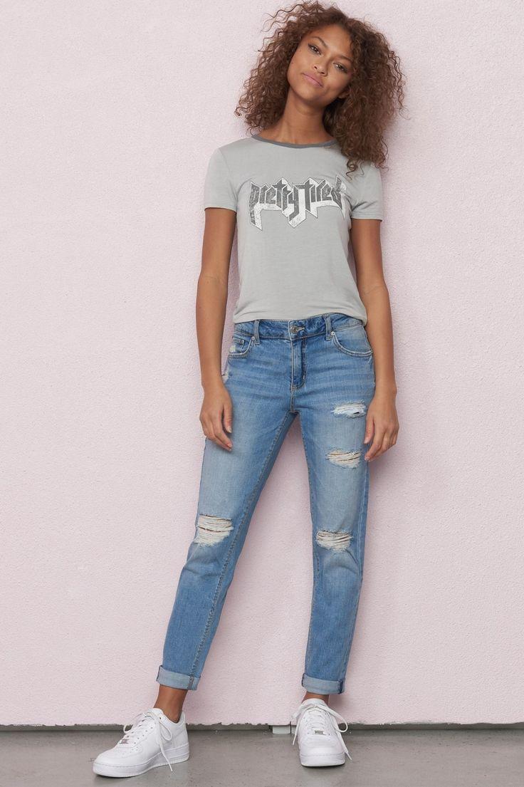 Palm Springs Blue Girlfriend Jean