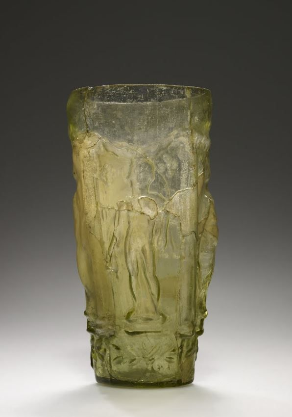 Mythological Beaker - second half of 1st century. Roman. Unknown | The J. Paul Getty Museum
