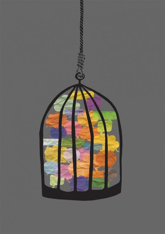 Freedom of speech illustration by alba domingo # ... |Freedom Of Speech Poster Ideas