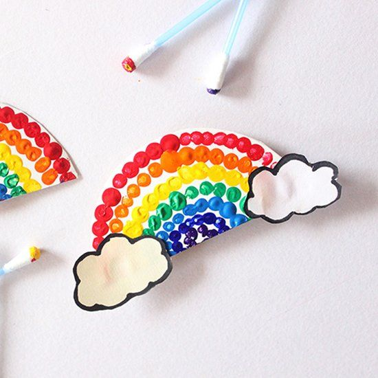 Rainbow Crafts For Kids!