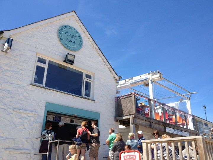 Porthgwidden Beach Cafe In St Ives Cornwall