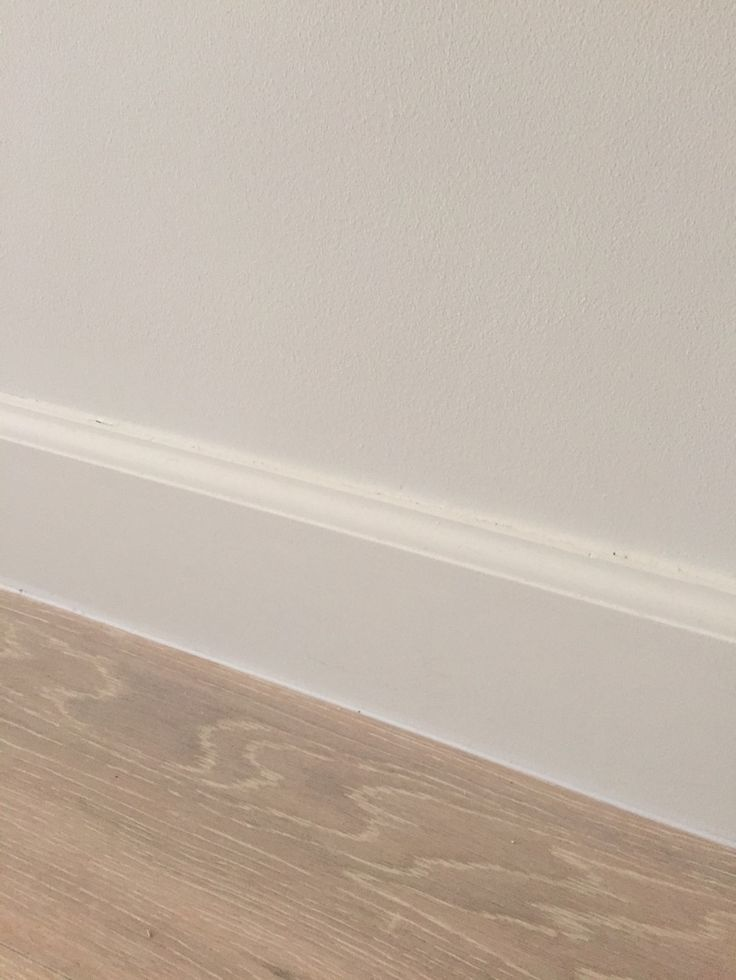 Colonial style baseboard against oak floors baseboards for Colonial trim molding