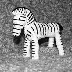 Kreaposen: Hæklet Zebra inspireret af Kay Bojesen