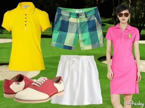 Unlikely Style Inspiration: Golfers Golf Style Inspiration – The Frisky