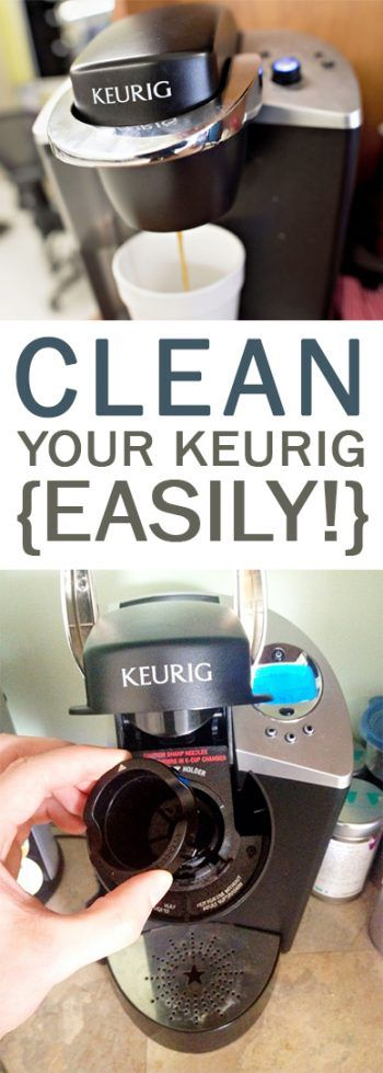 Clean Your Keurig {Easily!} How to Clean Your Keurig, Keurig Cleaning Tips and Tricks, Cleaning, Cleaning Hacks, Easy Ways to Clean Your Keurig, Clean Your Keurig Fast, Popular Pin