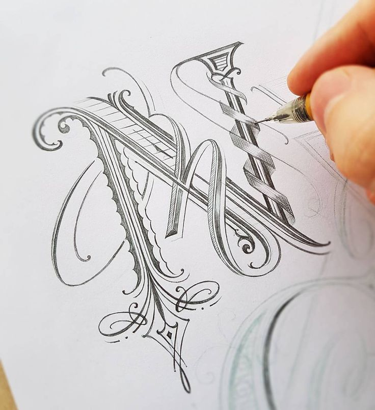 Beautiful lettering sketch by @mateuszwitczakdesigns - #typegang - free fonts at typegang.com | typegang.com #typegang #typography