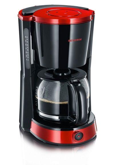 ¿Quieres una cafetera de goteo de gran capacidad? La Severin KA 4492 es tu máquina de café:  Cafetera de goteo de 1,4 litros y 1000 W