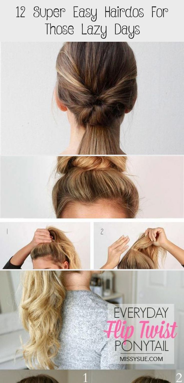 lazy hairstyles days hairdos those hitinternet