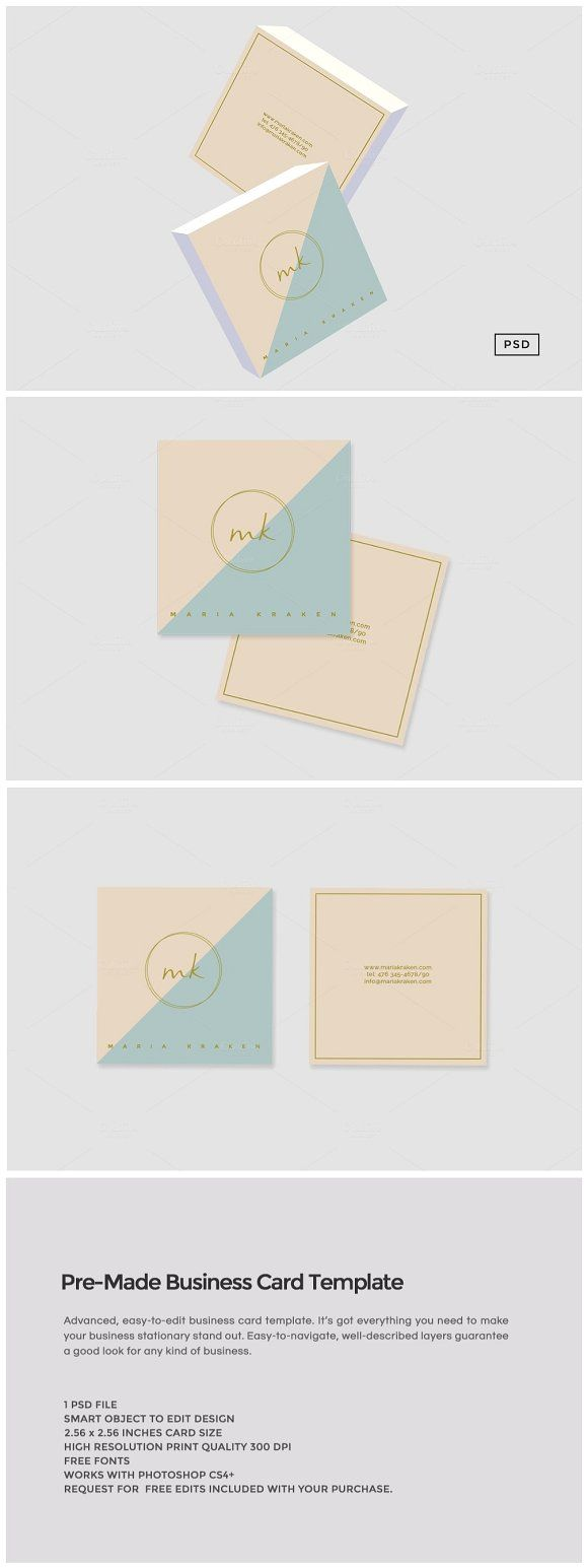 Best 25 free printable business cards ideas on pinterest pre made business card template by the design label on creativemarket free printable business cardsfree magicingreecefo Images