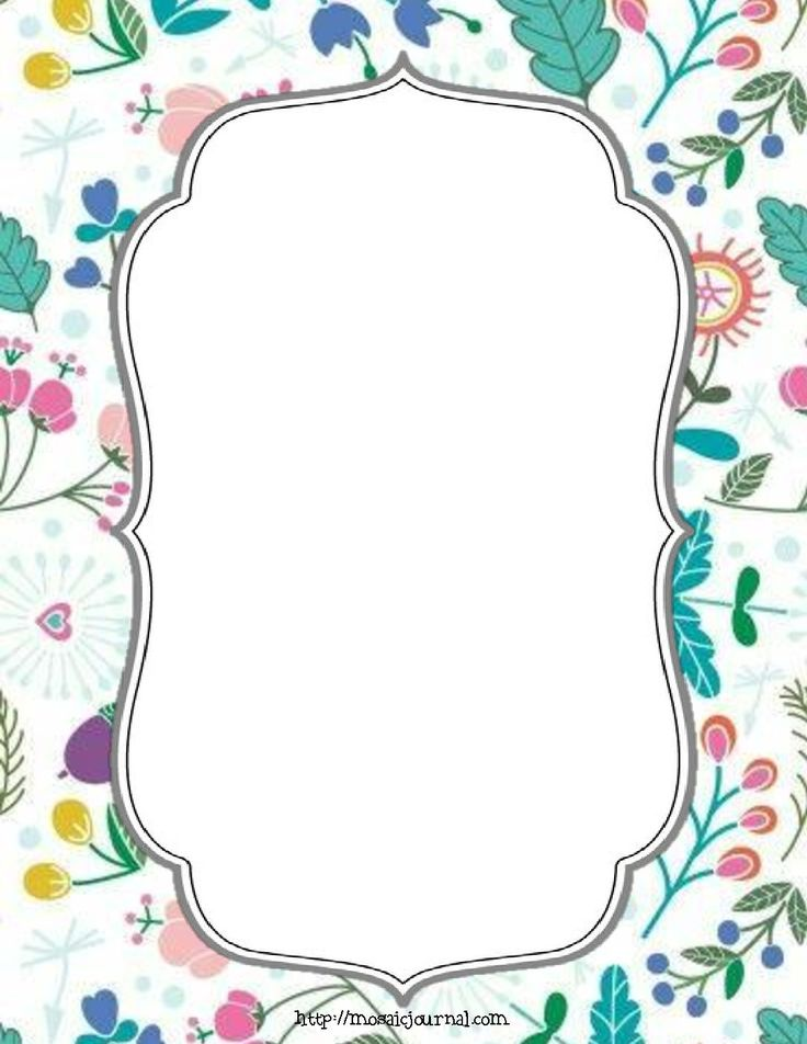Printables – Page 2 – mosaic journal