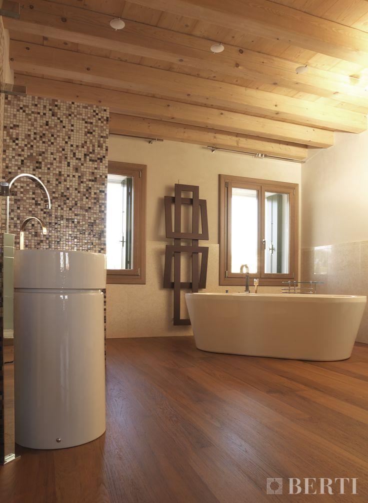 Berti pavimenti legno parquet tavole rovere verniciato