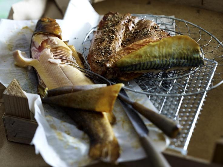 Fisch räuchern - Schritt für Schritt - geraeucherte-forelle-hautab9  Rezept