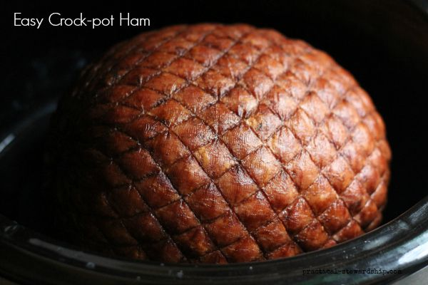 Easy Crock-Pot Ham Recipe