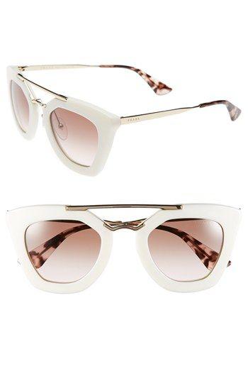 Prada 49mm Retro Sunglasses | Nordstrom