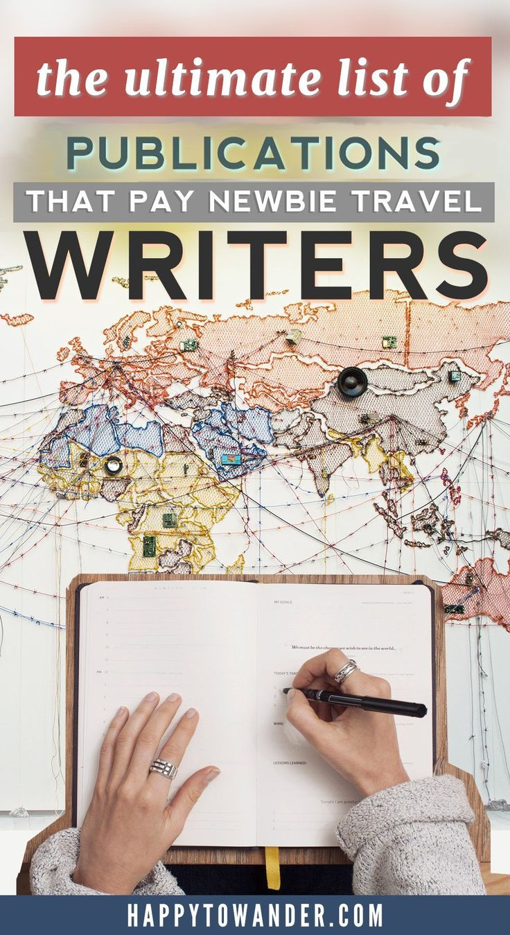 Aspiring travel writers NEED to read this article! Featuring a detailed list of online publications that pay their writers! If you want to learn how to become a travel writer, this list is a must-save.